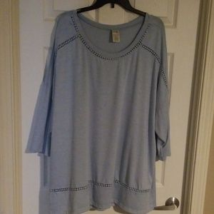 🔅Final Low Price!🔅Terra & Sky 3/4 sleeve tunic